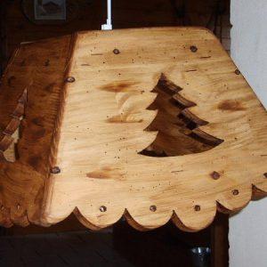 Lustre luminaire artisanal en bois 100% écologique déco scandinave