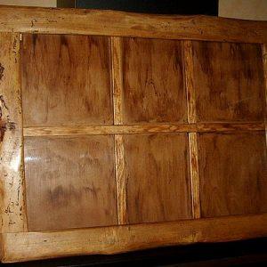 Pèle mêle artisanal en bois déco campagne
