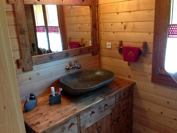 Meuble salle de bains deco chalet montagne - Déco Chalet Montagne
