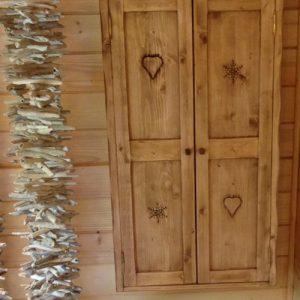 Meuble salle de bains deco chalet montagne