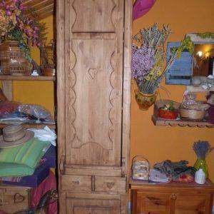 Armoire Table berger artisanal sur mesure deco chalet montagne
